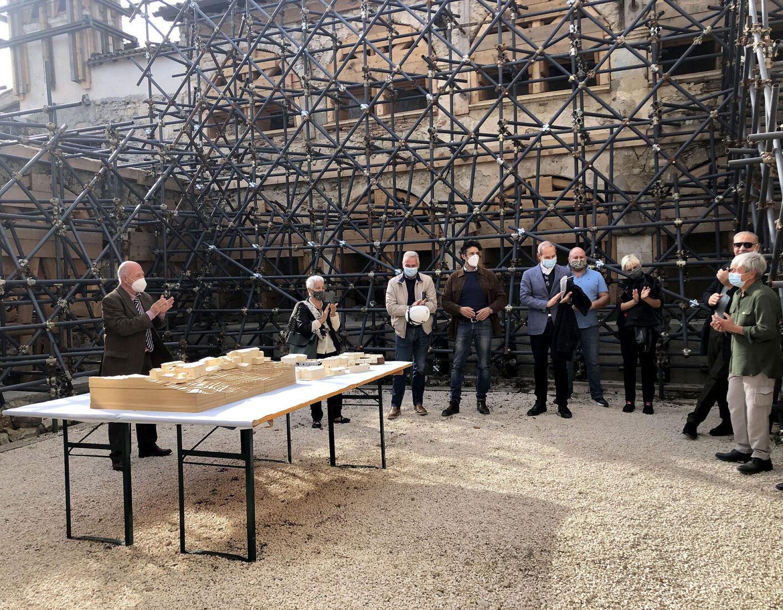 Borbona - Convento di Sant'Anna, presentazione progetti