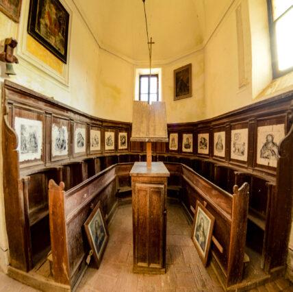 Borbona, Chiesa di Sant'Anna - Coro