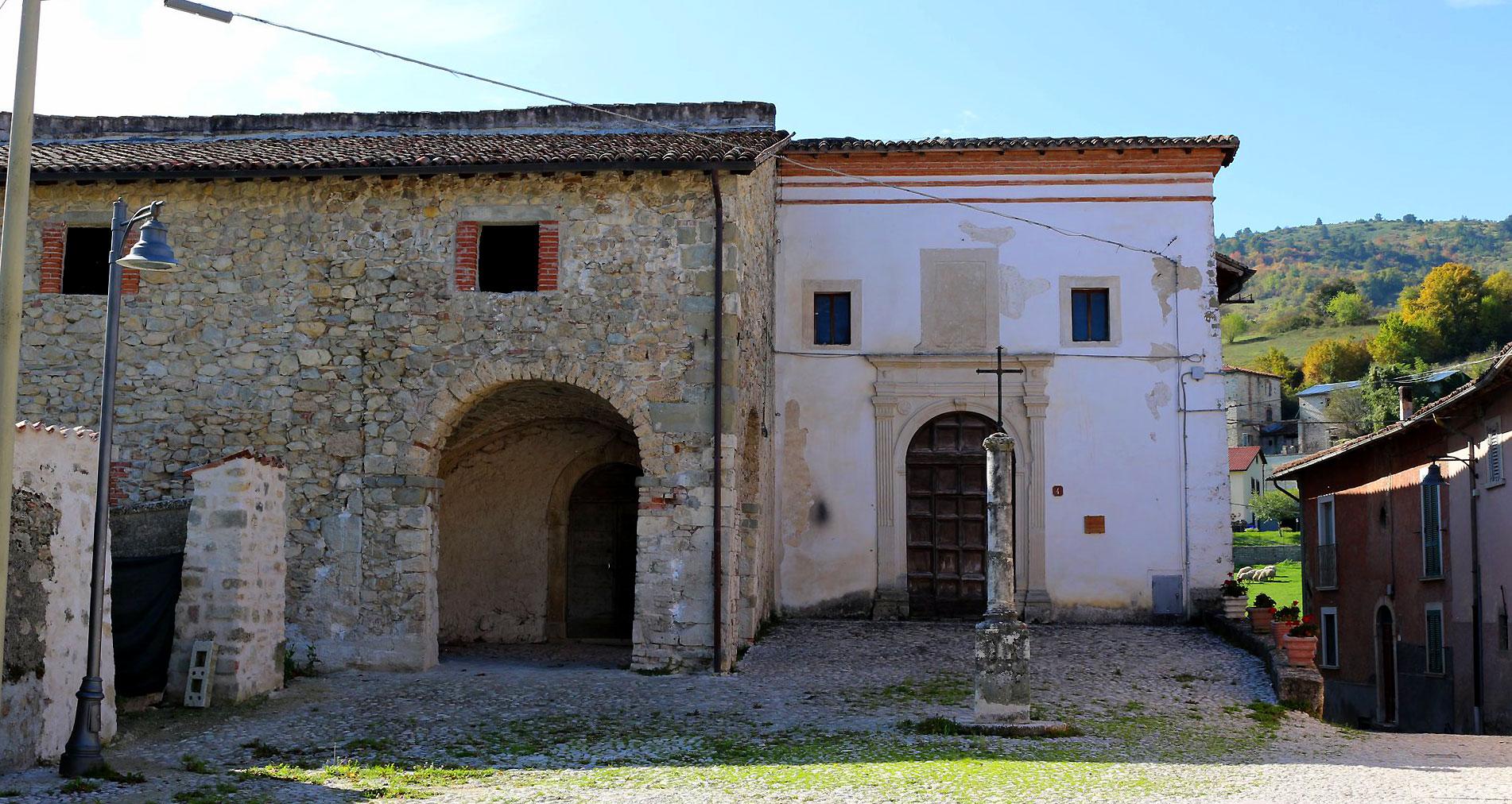 Chiesa di Sant'Anna, secoli XV-XVII