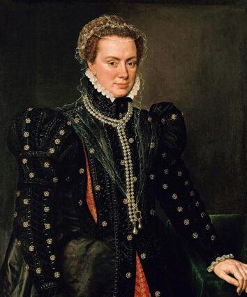 Margherita d'Austria - Ritratto di Antonio Moro