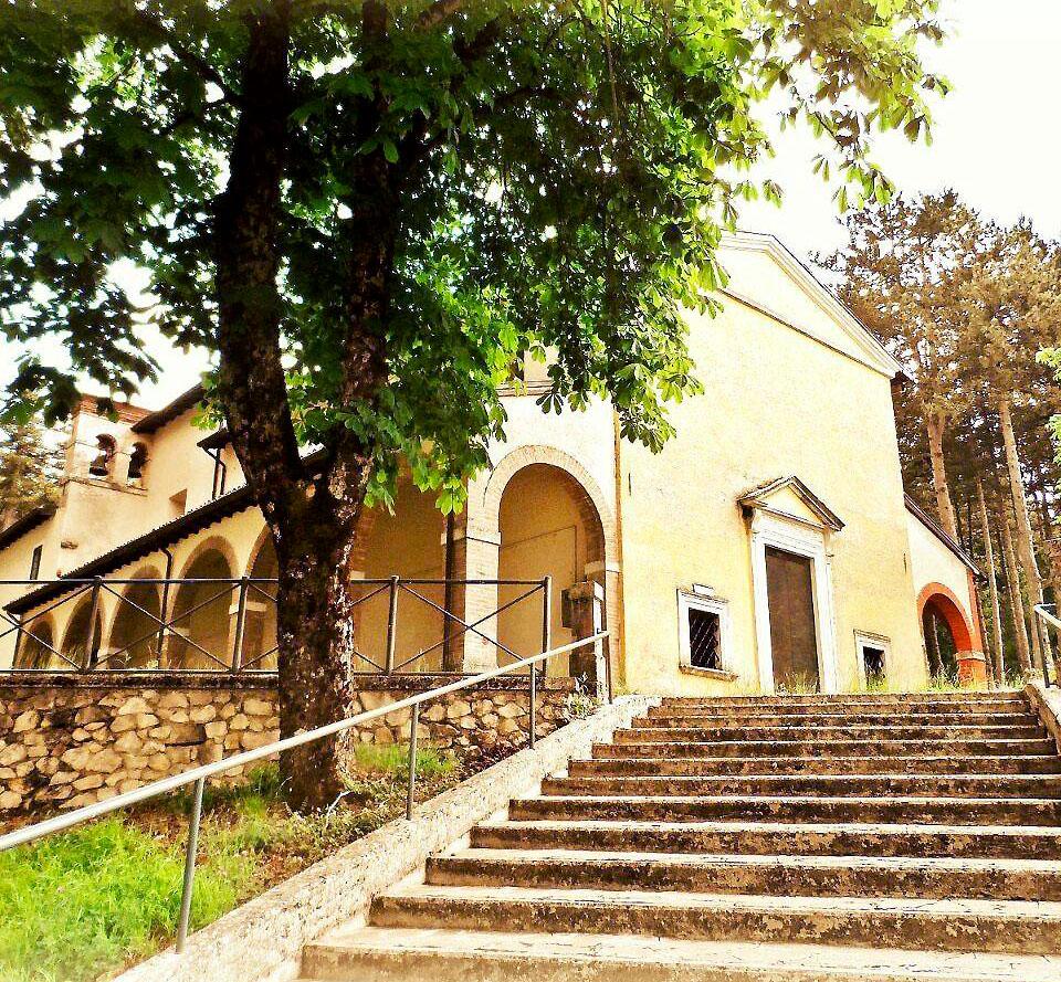 Borbona - Santuario di Santa Maria del Monte