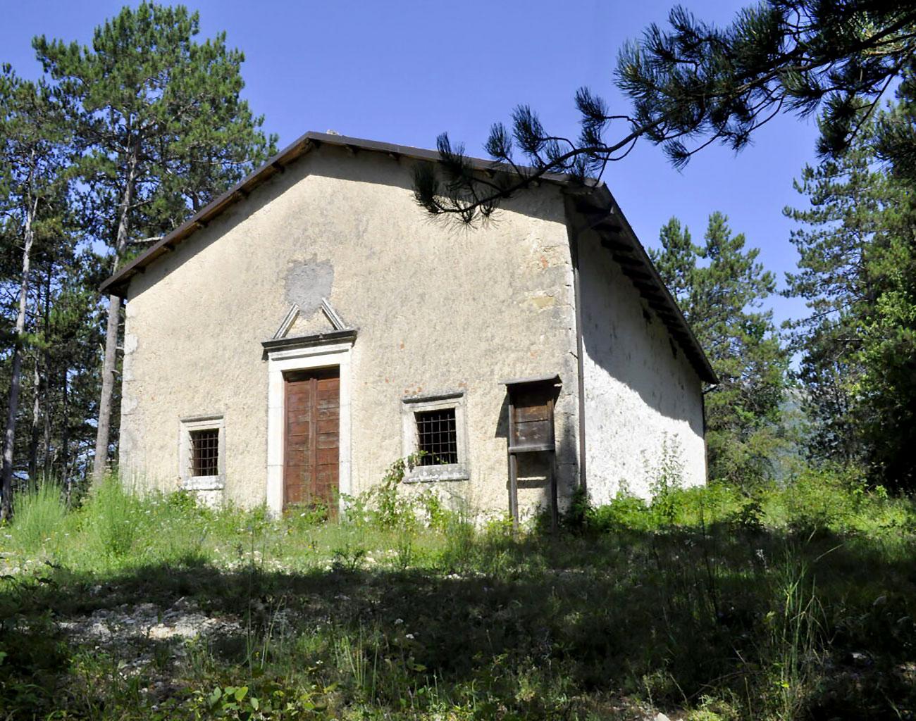 Chiesa Santa Croce alla pineta, secolo XVII