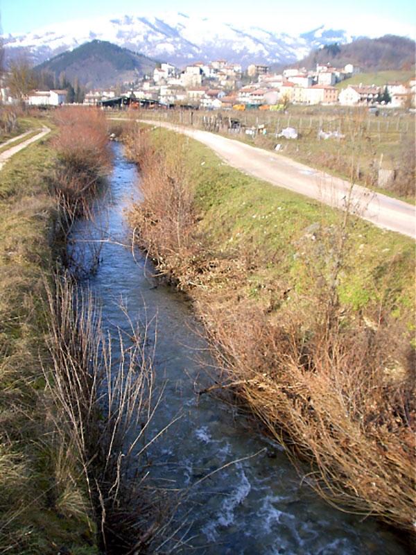 Borbona, il fiume Ratto.