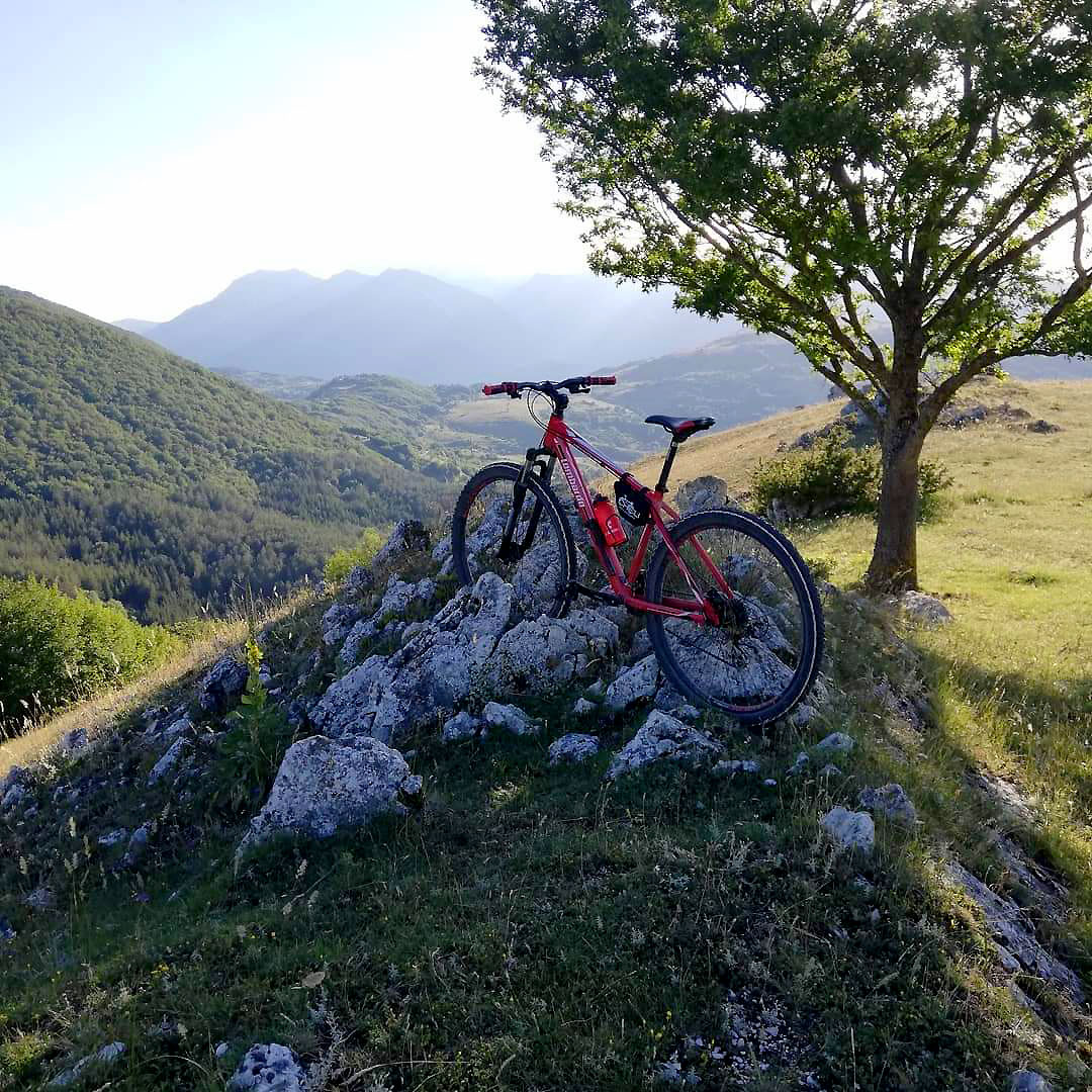 Borbona: mountain bike