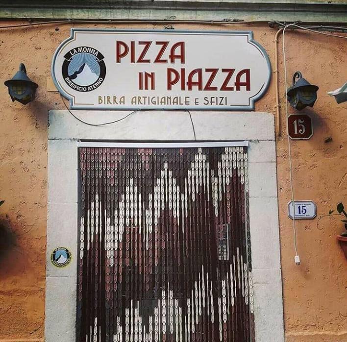 Borbona: Pizza in Piazza