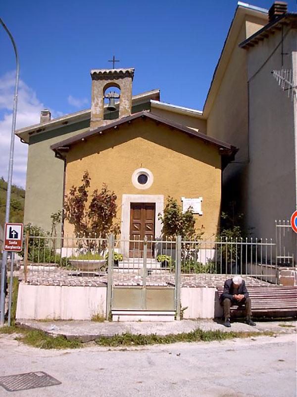 Piedimordenti, la Chiesa di Santa Margherita