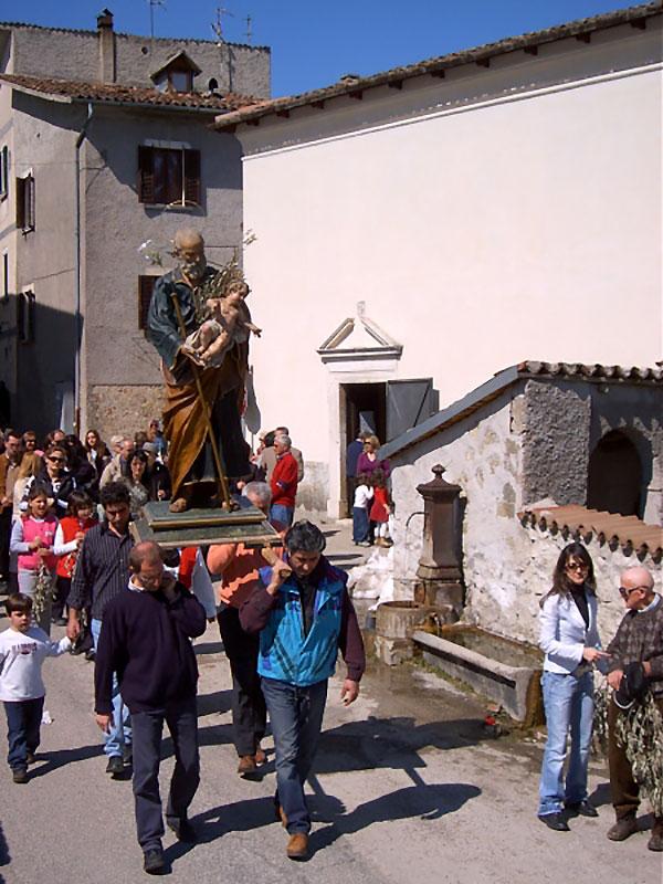 Borbona - Festa di San Giuseppe