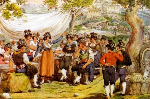 Borbona, Festival di Canto a Braccio