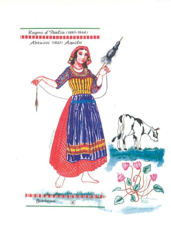 Borbona, costume tipico